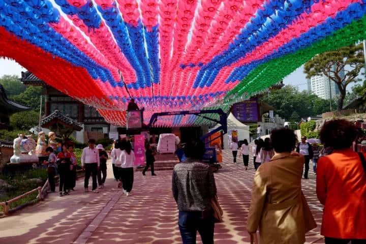 Festival de las linternas en Seúl 64