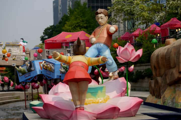 Festival de las linternas en Seúl 69
