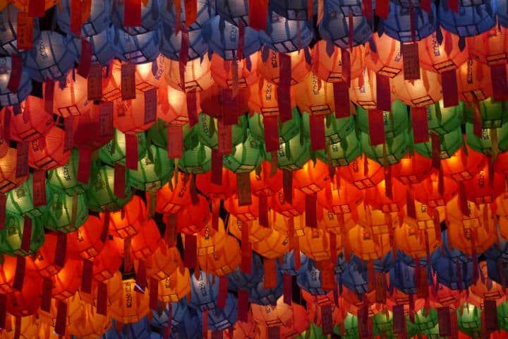 Festival de las linternas en Seúl 77