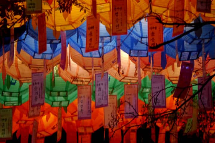 Festival de las linternas en Seúl 81