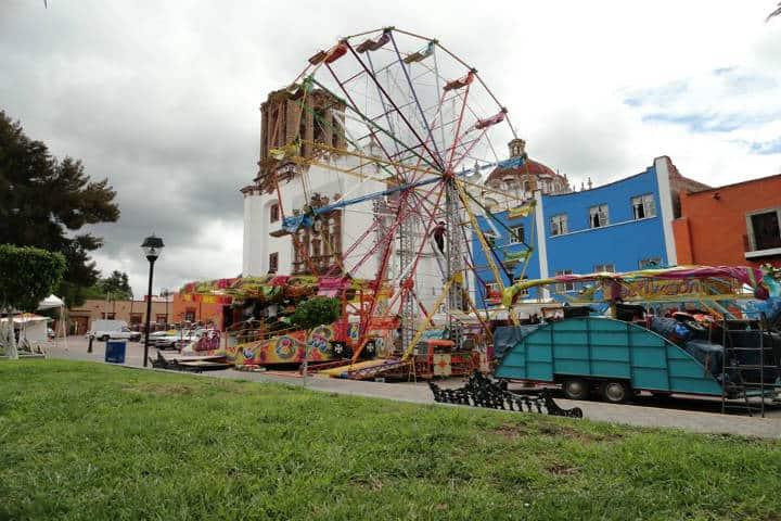Fiesta a San Juan Bautista. Foto Juan Lucas Angeles