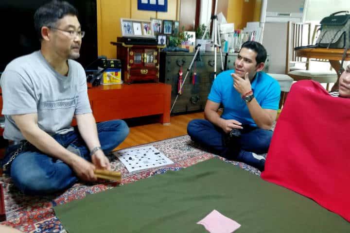 Kimchi cocinar con familia coreana 58
