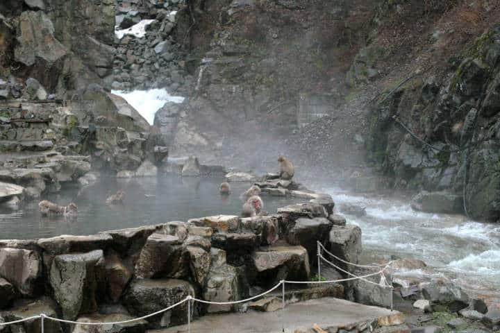 Los mejores onsen de Japón Foto Karen Pauley
