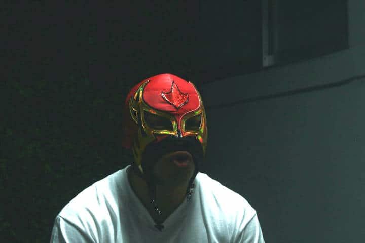 Luchador. Foto. Carlos E. Ramirez 2