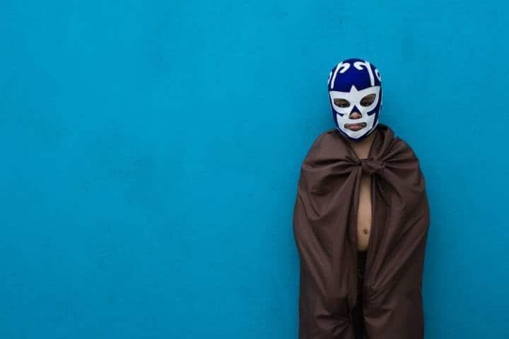 Luchador. Foto: Eduardo Balderas