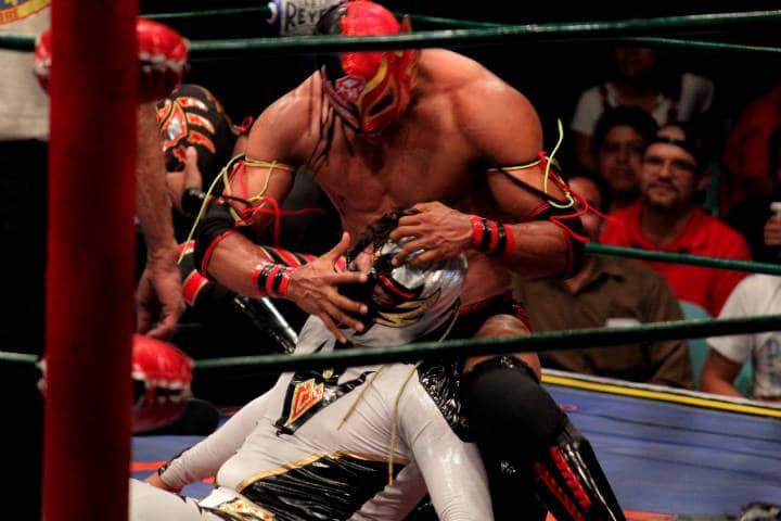 Máscaras de lucha libre Foto Alberto Delgadillo