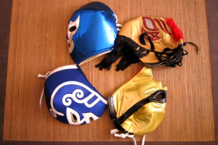 Máscaras de lucha libre Foto Ricardo Mena