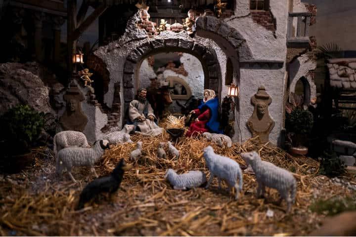 Navidad en el barrio del Sol Madrid. Foto: Dieter K