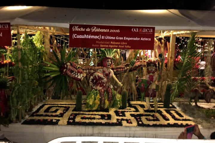 Noche de Rábanos Foto José Miguel Candelaria