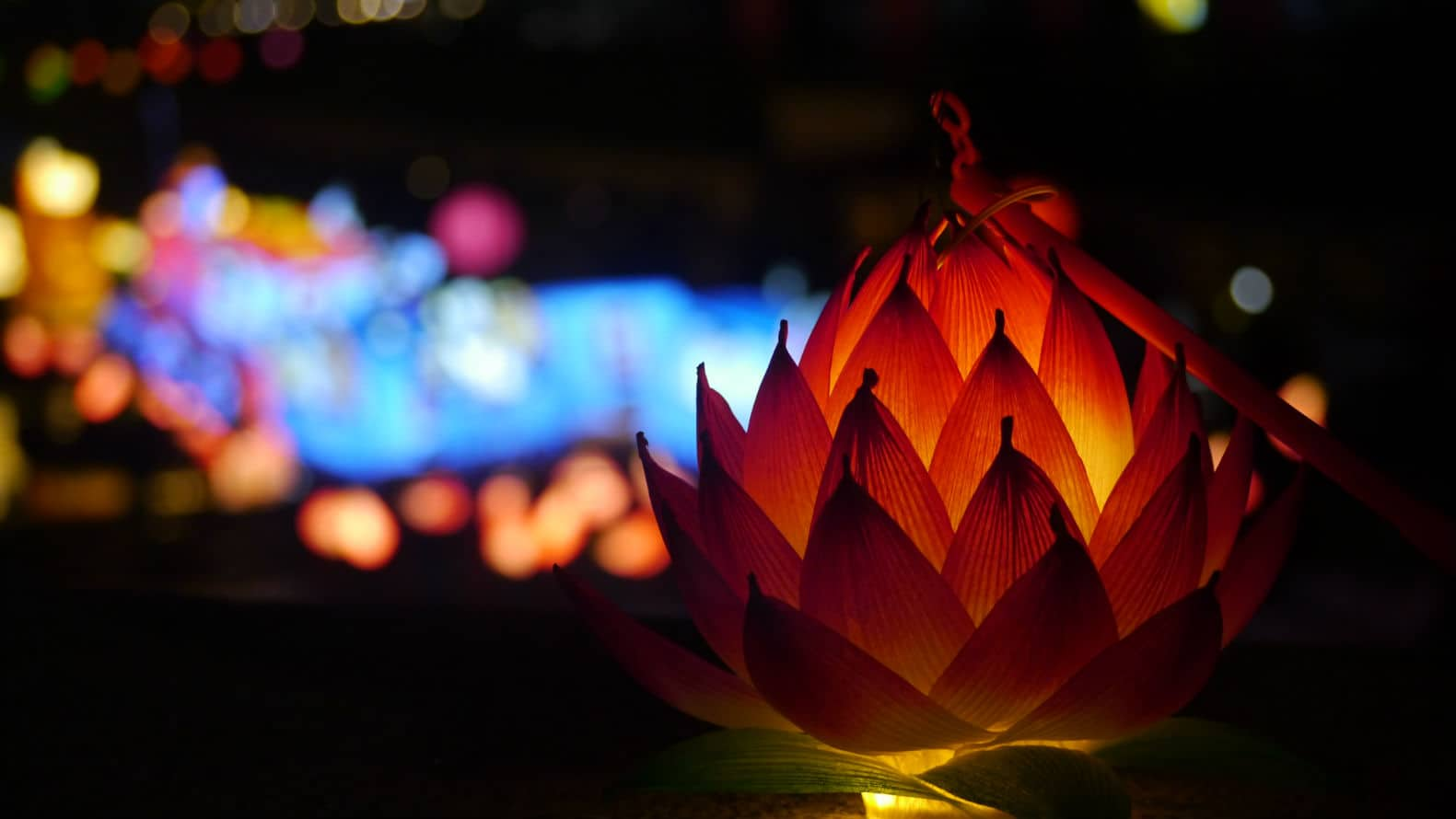 Festiva de las linternas en Seúl 91