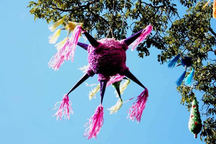 Piñatas de Acolman Foto Roberto Baca