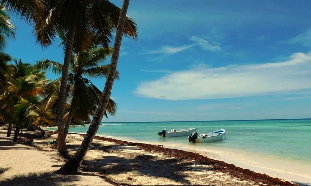 Saona, la isla Foto. Pixabay