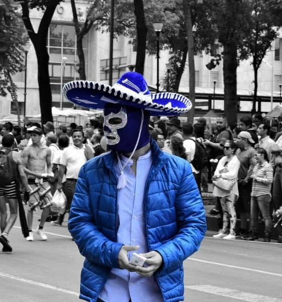 Máscaras de lucha libre Foto. Pixabay