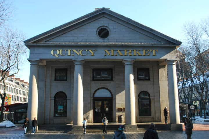 Quincy Market. The West End