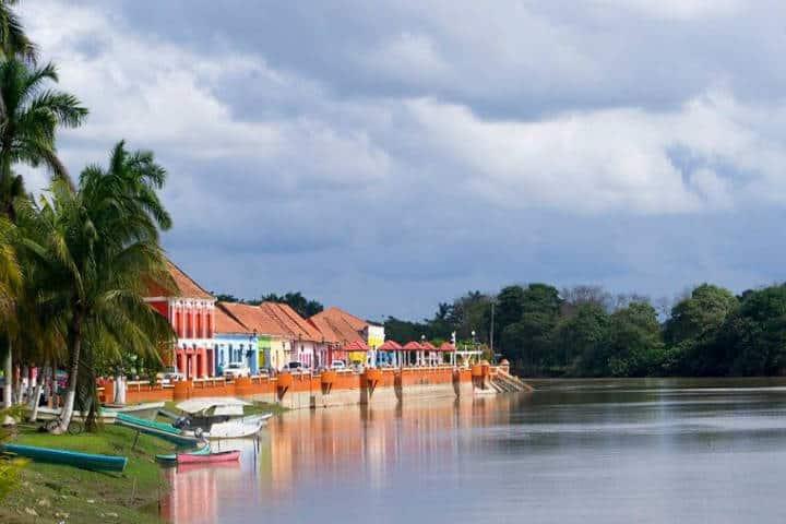Río Palizada. Foto Palizada Pueblo Mágico