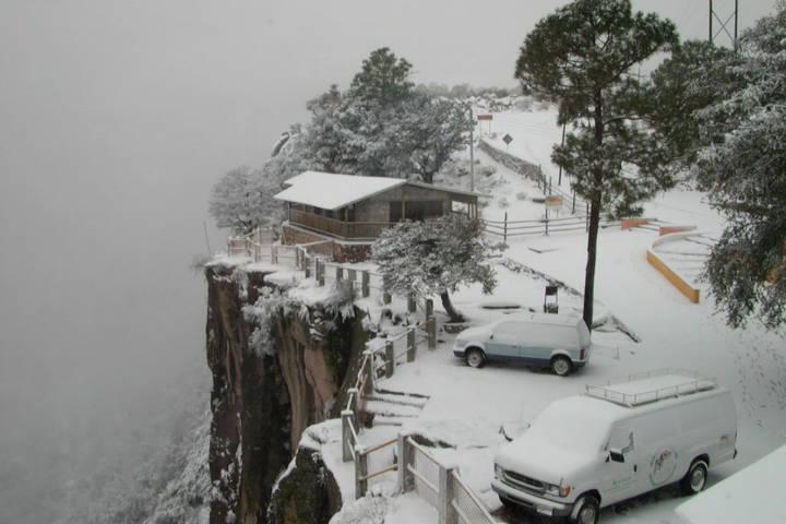 Sierra tarahumara nevada. Chihuahua. Imagen Luis Montalvo 2