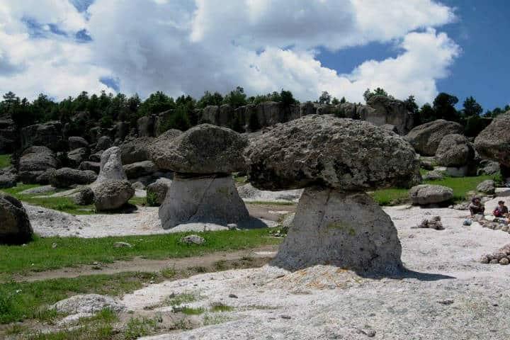 Valle de los Hongos. Foto Turismo en Mexico