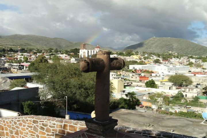 Vista de Cerro del Muhí Xhindó. Foto Juan Lucas Angeles