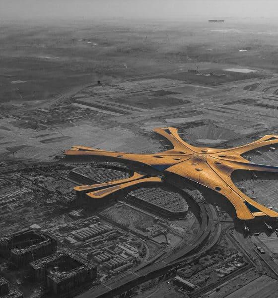 Aeropuerto Internacional Beijing Daxing Foto. Wikipedia