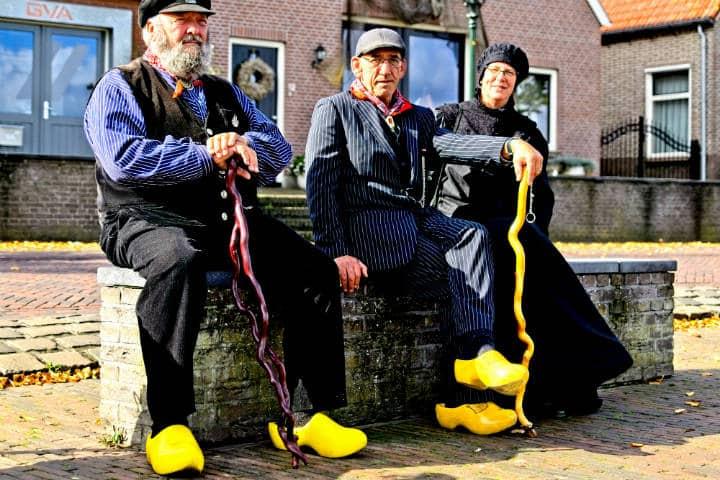 Zuecos holandeses Foto Hindrik Sijens