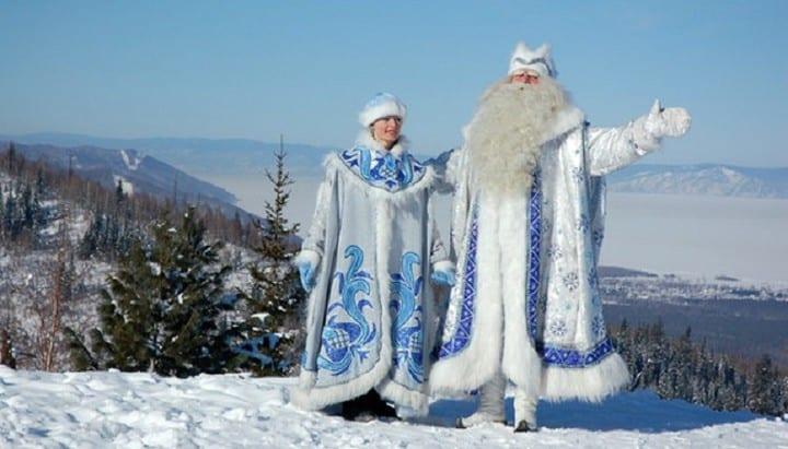 Ded Moroz y Snegurochka, Rusia. Foto: Archivo.