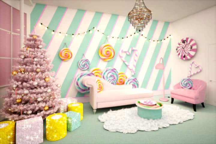 Candy Cane House Foto Booking