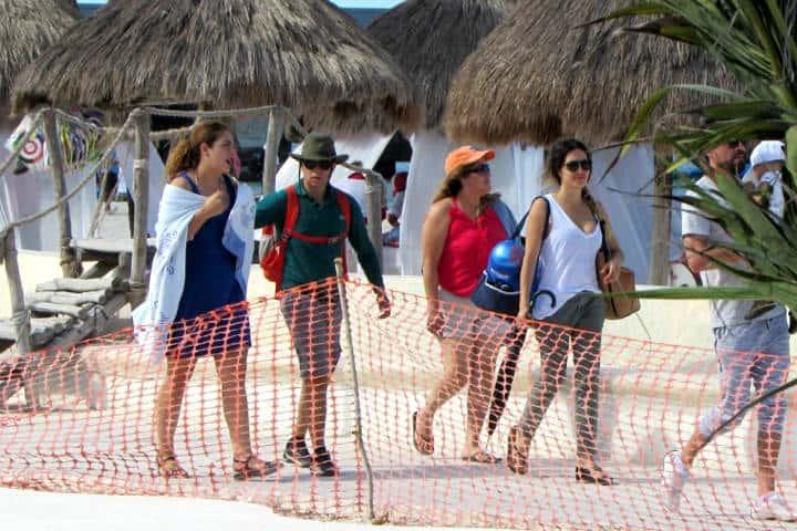Playa incluyente de Yucatán Foto El diario de Yucatán