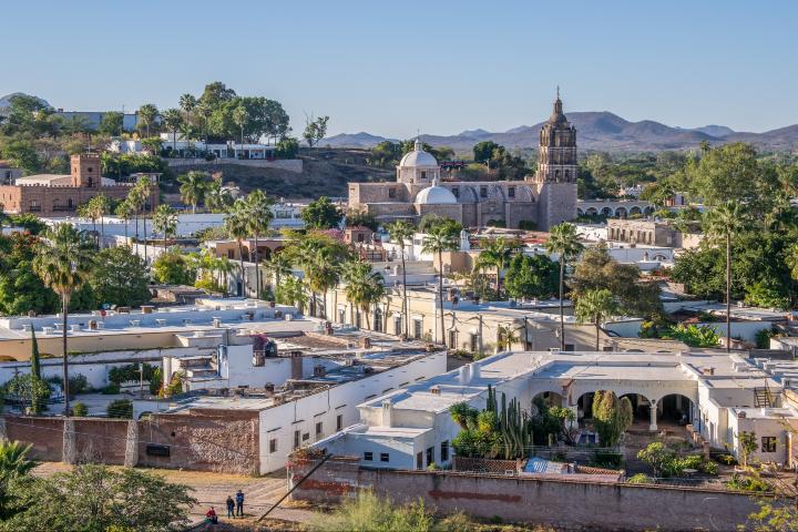 Pinterest foto:  Fiestas y clima de Álamos Sonora