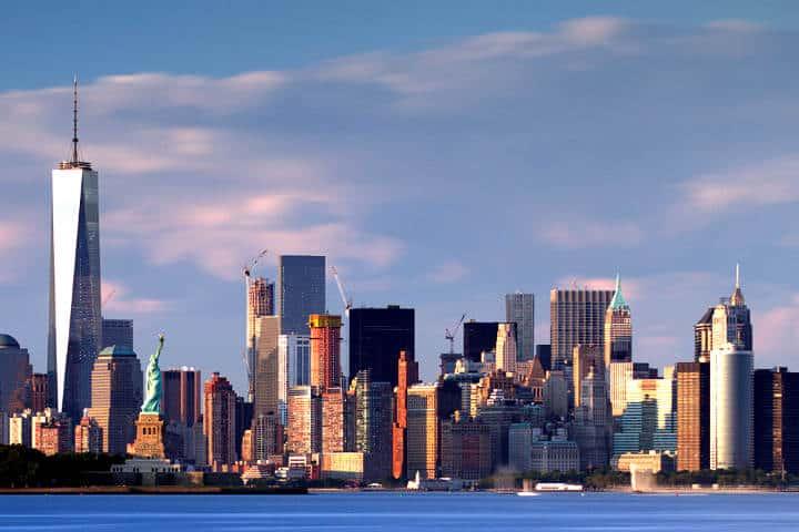 Año nuevo en Nueva York Foto John Cunniff