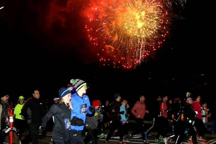 Año nuevo en Nueva York Foto New York Road Runners