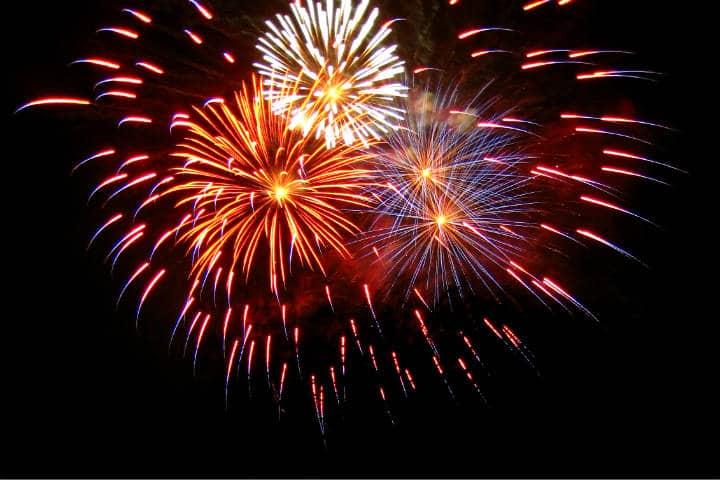 Año nuevo en Nueva York Foto Russell Bernice