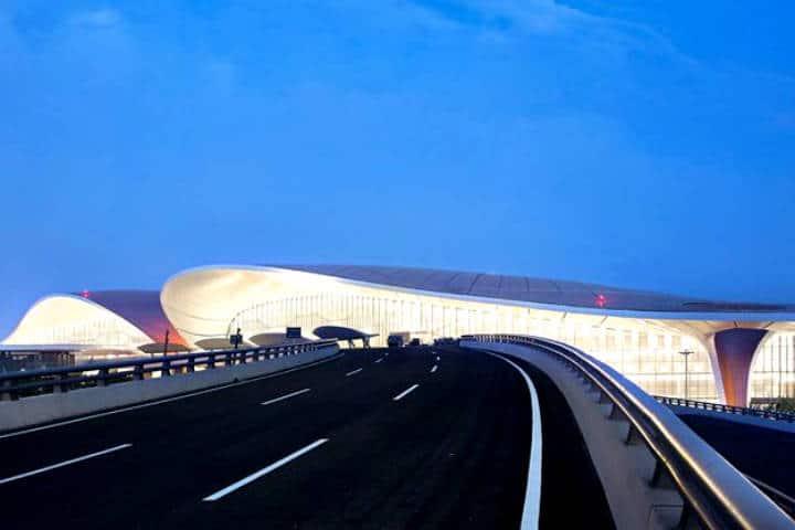 Aeropuerto Internacional Beijing Daxing Foto MDS Arquitectos