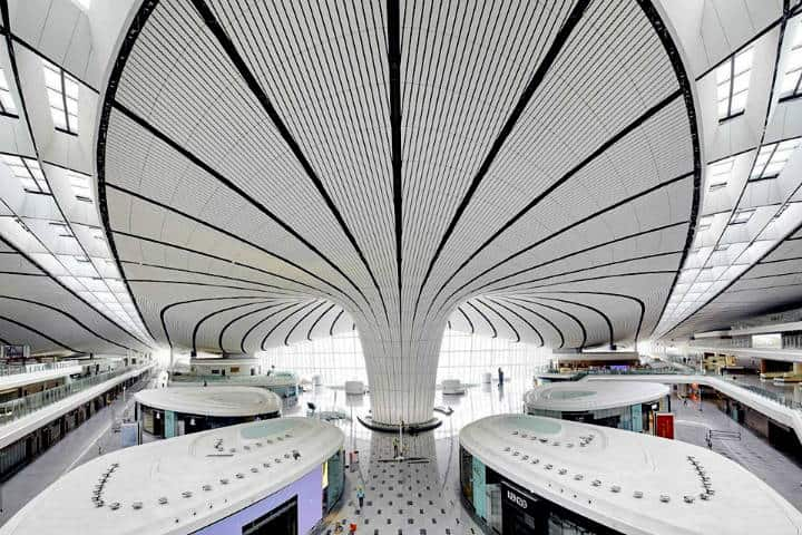 Aeropuerto Internacional Beijing Daxing Foto Sawa Arquitectos