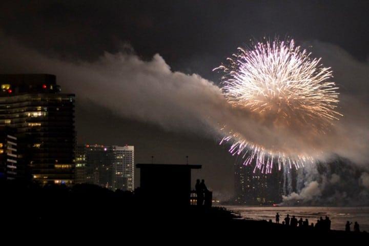 Año nuevo, Miami. Foto Verónica Fuentes.