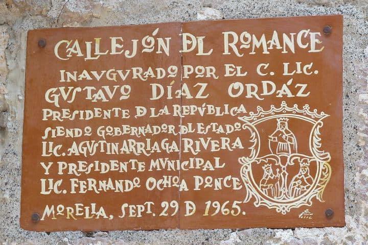 Callejon del Romance, Morelia. Foto Sergio Dávila.