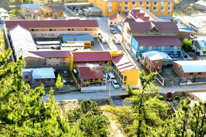 Dónde hospedarse en Creel Foto Hotel Ecológico Temazcal