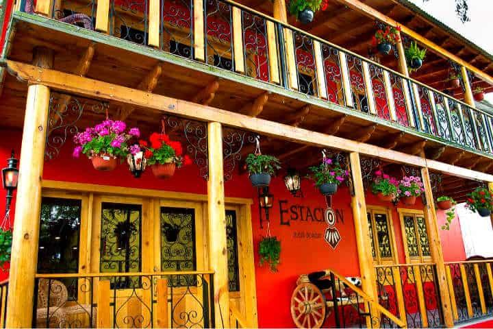 Dónde hospedarse en Creel Foto Hotel La Estación