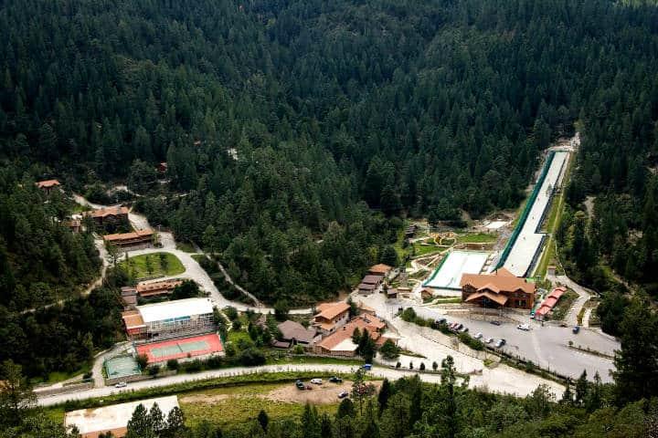 Donde hospedarse en Arteaga Foto Bosques de Monterreal