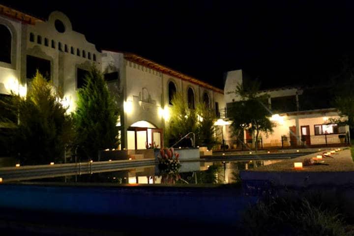 Donde hospedarse en Arteaga Foto La hacienda concepción