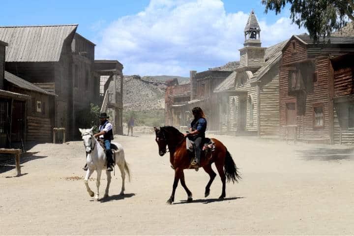 Durango ha sido escenario de 180 películas Foto Ramon Boersbroek