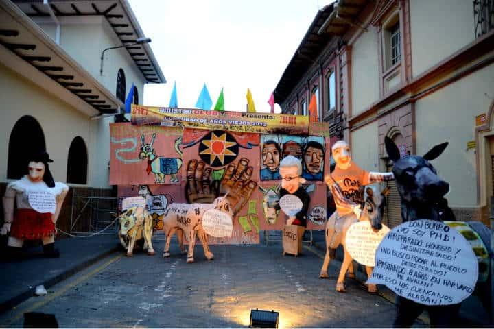 El Año viejo en Ecuador Foto Joe Ross