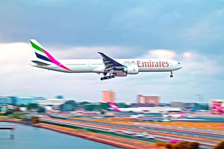 Emirates Vuelo Mexico-Dubai Foto Justin Griffiths