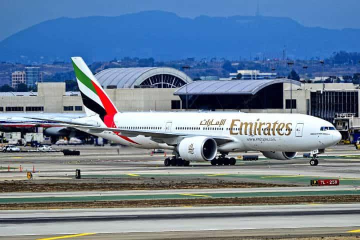 Emirates Vuelo Mexico-Dubai Foto Tomás Del Coro