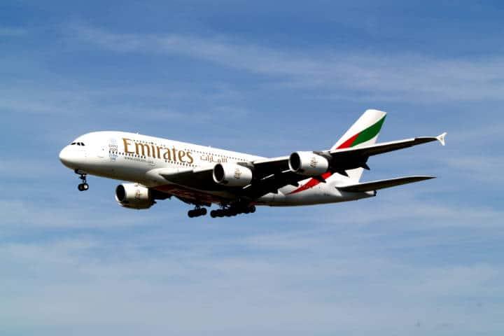 Emirates Vuelo Mexico-Dubai Foto Uwe Gompf