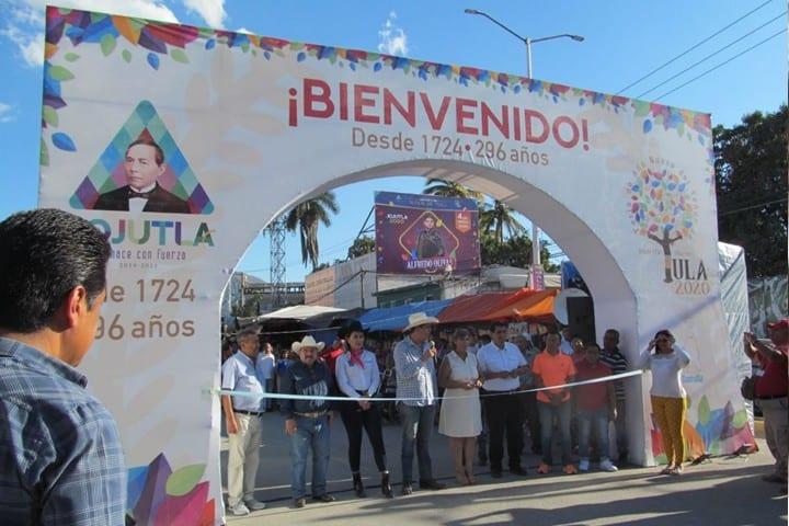 Inaguración Año Nuevo Jojutla. Foto La Unión de Morelos.