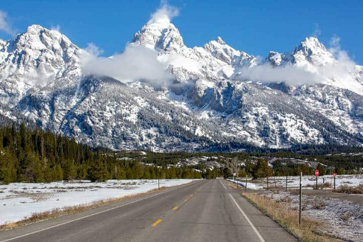 Jackson Hole Mountains Foto JHMR