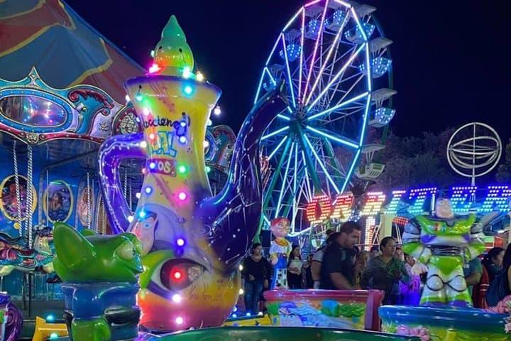 Juegos mécanicos. Foto Jojutla Feria Año Nuevo FB 3.