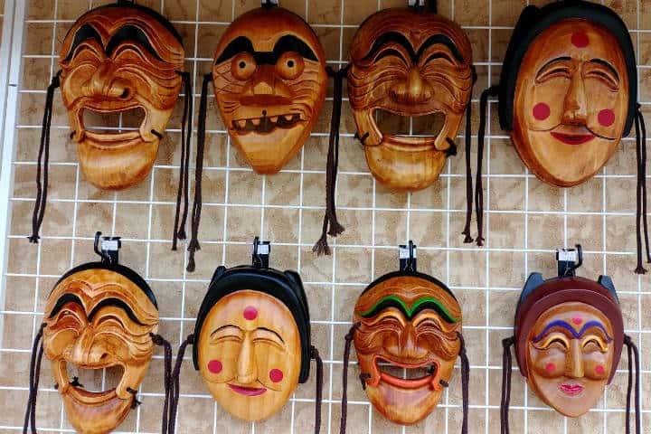 Máscaras coreanas Foto Un Mundo Interminable
