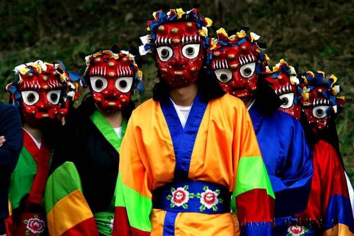 Máscaras coreanas Foto XiahPop