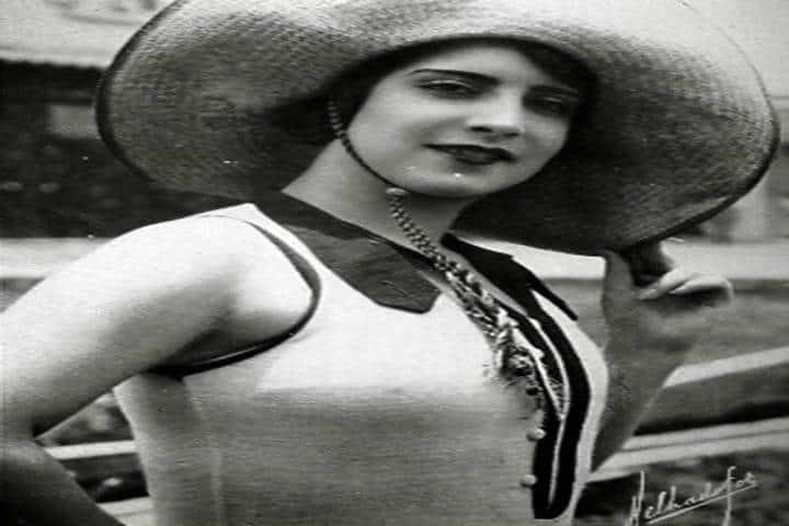 María Teresa Landa. Foto El México Que Se Fue